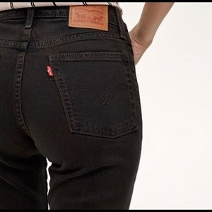 Levi's Jeans - Wedgie Icon fit in Midnight